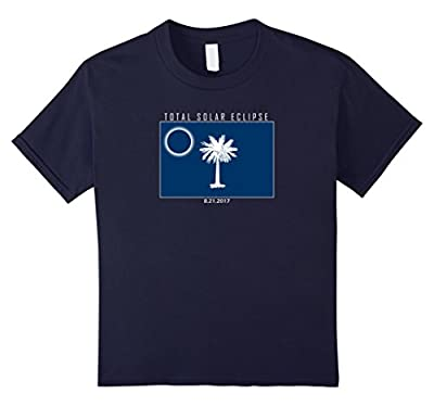 South Carolina Solar Eclipse 2017 funny flag shirt