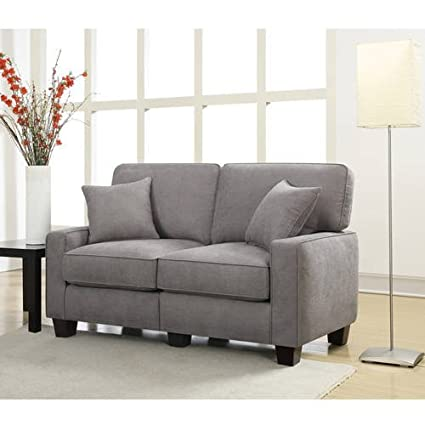 Charming Living Area Lobby Home Office Sofa Contemporary Modern Design Couch Cozy  Comfortable Love Seat Settee Sturdy