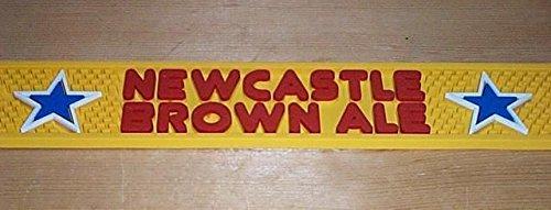 Newcastle Brown Ale Rail Bar Mat Runner Drip Mat New