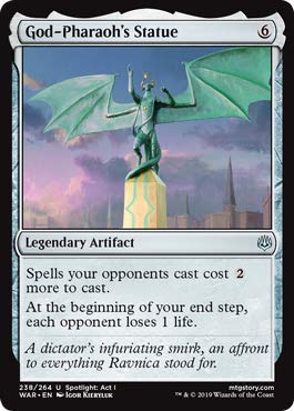 Magic: The Gathering - God-Pharaoh's Statue - War of The ()