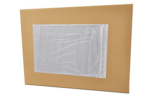 "7"" x 10"" Packing List Back Side Loading Plain Face Envelopes Pouches ( 1000 pcs )"