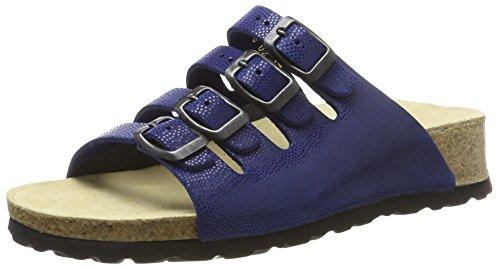 Weeger Royalblau Blau para de mujeres azules mulas 11460 Las qAw8vUw