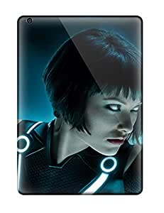 Tpu Case Cover Compatible For Ipad Air/ Hot Case/ Olivia Wilde Tron Legacy Multi Monitor