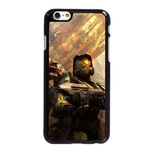 K5Y14 auréole F0U2AC coque iPhone 6 Plus de 5,5 pouces cas de couverture de téléphone portable coque noire WY2QQQ6KG