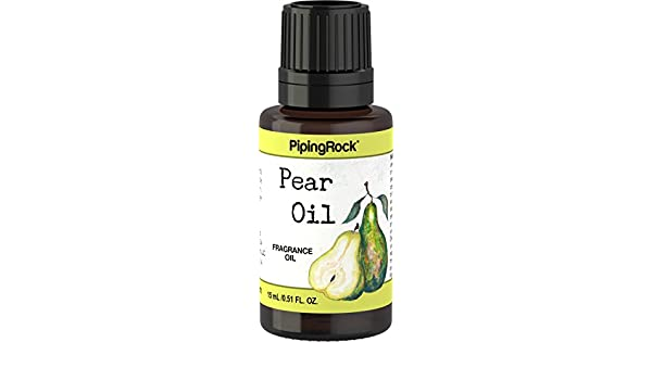 Pear Fragrance Oil 1/2 oz (15 mL) by Piping Rock Health Products: Amazon.es: Salud y cuidado personal