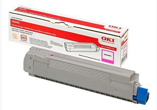 OKI Magenta Toner Cartridge for C8600 - Tóner para impresoras ...