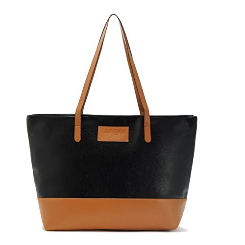 Black And Brown Tote Bag - 2