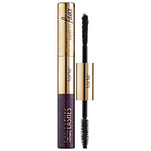- tarte Lights, Camera, Lashes Double-Ended Mascara And Lash Fibers