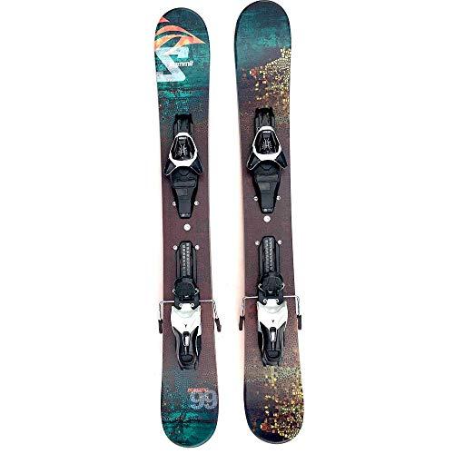 Summit Ecstatic 99cm Skiboards Snowblades with Atomic L10 Release Ski Bindings - Blades Ski