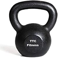 Castiron Kettlebell (2 kg to 48 kg) for Strength and Conditioning/Fitness (Assorted Colours)
