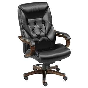 Amazon Com Standard Black Faux Leather Executive Chair