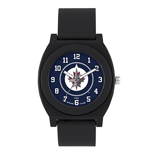 NHL Winnipeg Jets Mens Fan Series Wrist Watch, Black, One ()