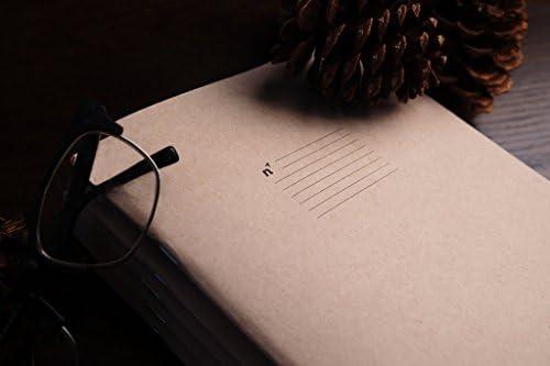 Libreta / Cuaderno para escritura | 3 Notebook de hojas con líneas | Páginas de Papel Grueso Premium | 7x10 | Hecho en USA