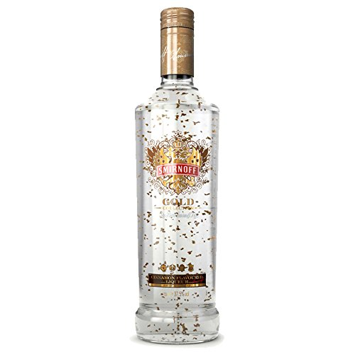 Smirnoff Gold with Gold leaf 37.5% Cinnamon Flavoured Liqueur 0,7 l