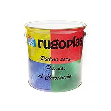 Peinture au Clorocaucho Bleu Piscine/Blanc Pinturas Cabello S.A.