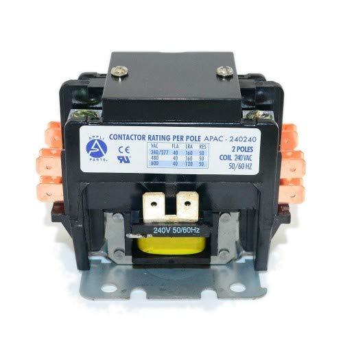 CONTACTOR 2 POLES 40A 240V (2 Pole 40 Amp 240 Volts)
