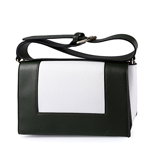 JPFCAK Ms Shoulder Bags Diagonal Package Simple Fashion Packet Señora Personality Temperament Bolso De Hombro De Moda Bolso De Crossbody B
