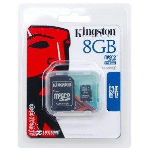 Kingston Technology-Tarjeta de memoria de 8 GB para Wiko ...