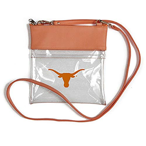 Desden Texas Longhorns Clear Gameday Crossbody Bag