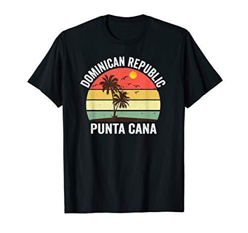 (Punta Cana Beach Souvenir T Shirt Dominican Republic 2019)