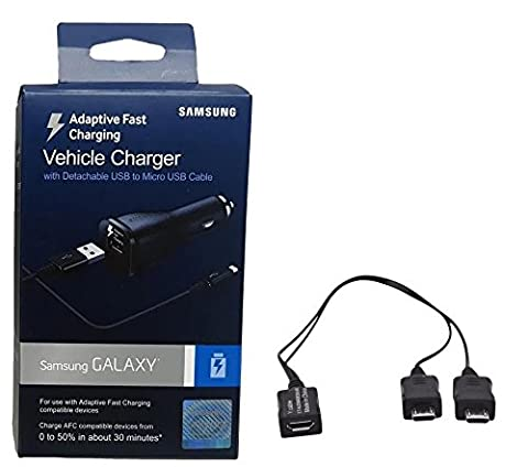 Official Samsung Adaptive Fast Charging Car Charger