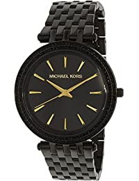 Michael Kors Women's Darci MK3337 Black Stainless-Steel Quartz Watch