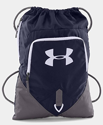 Under Armour UA Team Undeniable Sackpack, Midnight/Graphite/White, One-Size