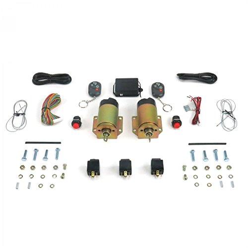 AutoLoc Power Accessories AUTSVPRO54 4 Function 50 Lbs Remote Shaved Door Popper Kit