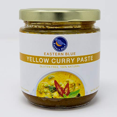 Eastern Blue Thai Yellow Curry Paste are Vegan, Gluten Free, Dairy Free with no preservative, no peanut. Make variety meals with our rich, bold flavours ie., curry, soup, stir-fry