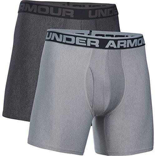 Boxerjock ArmourO 6in Under true Grigiocarbon Heather Heather 2pkBoxerUomo Gray series 3qcj4R5LA