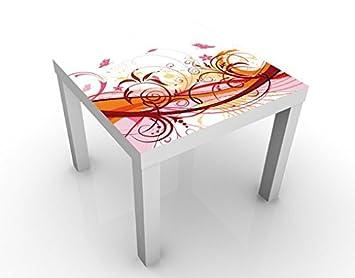 Apalis Design Tisch July 55x55x45cm Beistelltisch Couchtisch Motiv ...