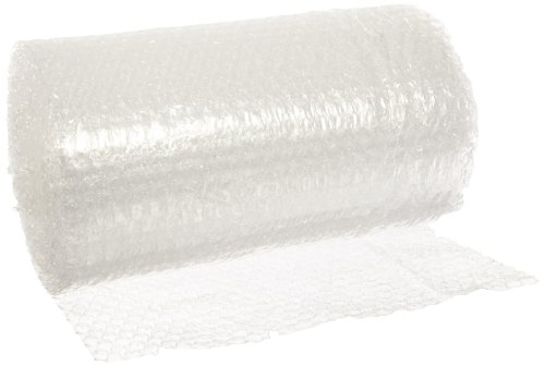 (Pratt Polyethylene Economy Perforated Bubble Roll, PRA3266027,  30' Length x 12