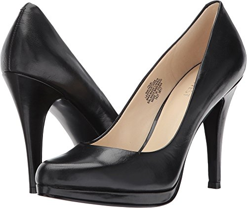 Nine West Women's Rocha Black Leather 1 Pump