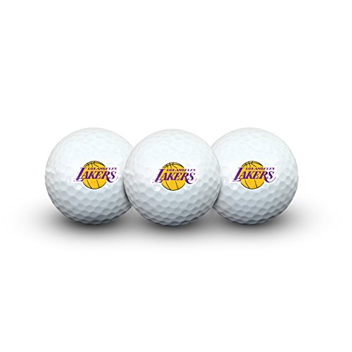 Team Effort NBA Los Angeles Lakers LA Lakers Golf Ball Pack of 3Golf Ball Pack of 3, NA