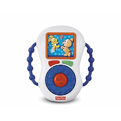Fisher-Price Laugh & Learning Music Player: Toys & Games