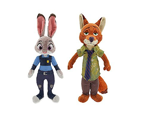 Zootopia Judy Hopps and Nick Wilde Exclusive Plush Set
