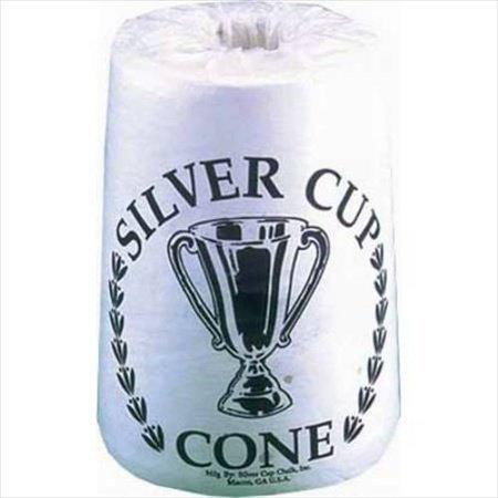 CueStix CHSCC Silver Cup Cone Chalk Case of 6