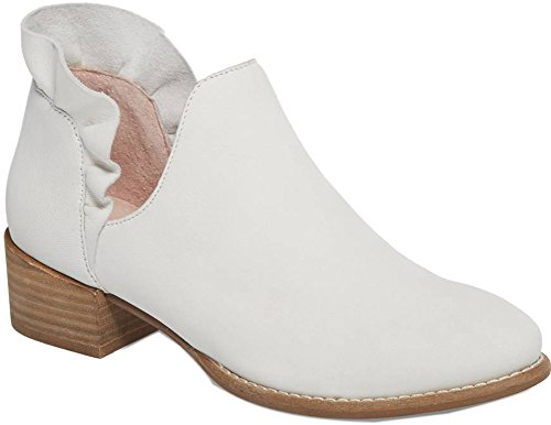 Seychelles Women's Renowned Ankle Boot White Nubuck