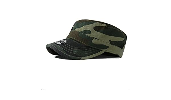 f2a5073381d Army Cadet Military Patrol Castro Cap Hat Men Women Golf Driving Summer  Baseball at Amazon Men s Clothing store