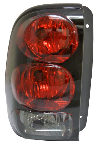 Chevy Trailblazer 02-09 Left Lh Rear Brake Taillight Taillamp Lens & Housing Trailblazer Brake Lights