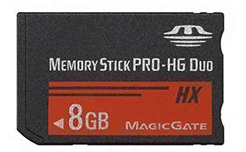 Original High speed memory stick Pro- HG duo (MS-HX8A)PSP Accessories for Sony camera Top-BR Memory stick 8gb