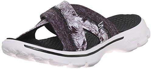 Gli Skechers Vanno A Passeggio - Fiji Damen Schuh Black Flower