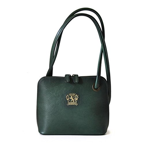 Pratesi Roccastrada Lady bag - B468 Bruce Dark Green by Pratesi Leather