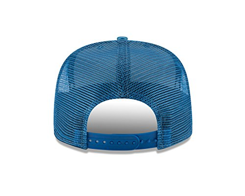 c664a9c67df58a NFL Detroit Lions Team Sleek Trucker 9FIFTY Cap, One Size, Blue ...
