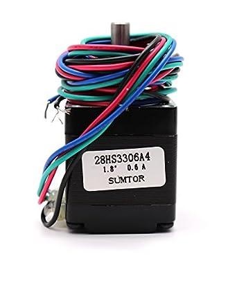 Amazon.com: yohii NEMA 11 motor paso a paso bipolar 33 mm. 0 ...