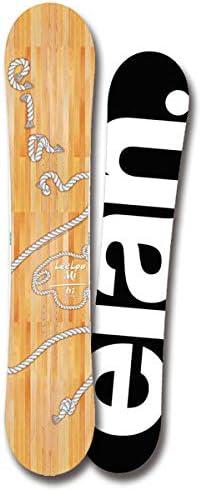 19-20 ELAN エラン LEELOO-Mi リーローミー スノーボード カービングク ツイン 宮崎郁美モデル レディース 2020