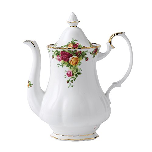 Royal Albert Old Country Roses Coffee Pot - Roses Royal Doulton Old Country