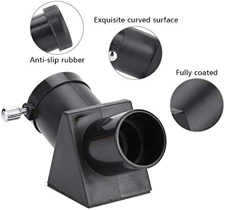 "Acouto 0.96""/24.3mm 45 Degree Refracting Telescope Erecting Prism Eyepiece Diagonal Mirror"