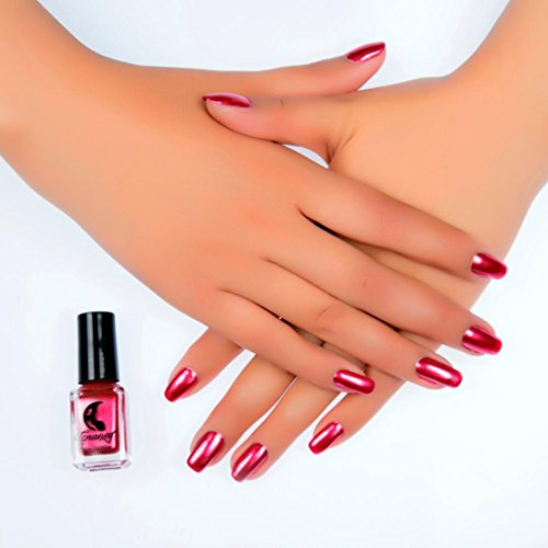 Inverlee Mirror Chrome Effect Nail Art Polish Metal Color St