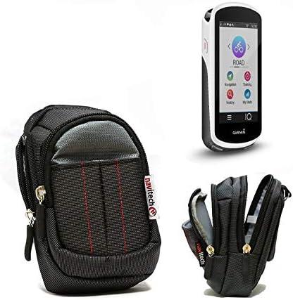 Navitech Black Water Resistant GPS/Satelitte Navigation System Case Cover CompatibleThe Garmin inreach Mini (with Belt and Shoulder Strap)